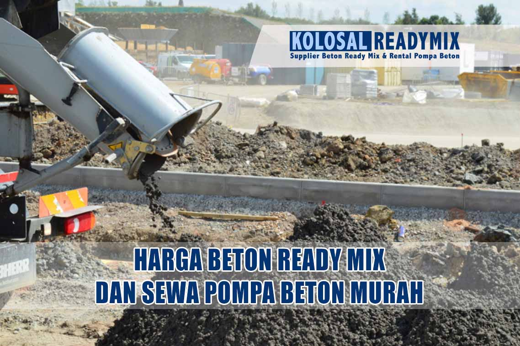harga beton ready mix murah